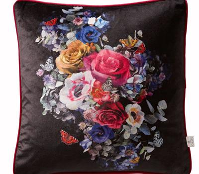 Floriana Floral Cut Out Cushion