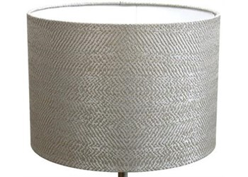 Harrison Silver Lampshade