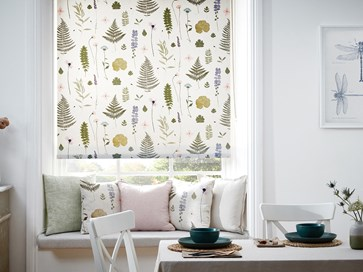 Roller blinds by Clarke and Clarke